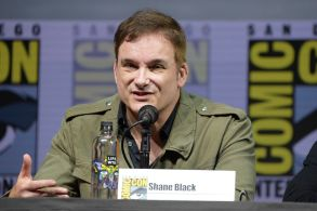 "Shane Black speaks at the 20th Century Fox ""The Predator"" panel on day one of Comic-Con International, in San Diego2018 Comic-Con - 20th Century Fox ""The Predator"" Panel, San Diego, USA - 19 Jul 2018"