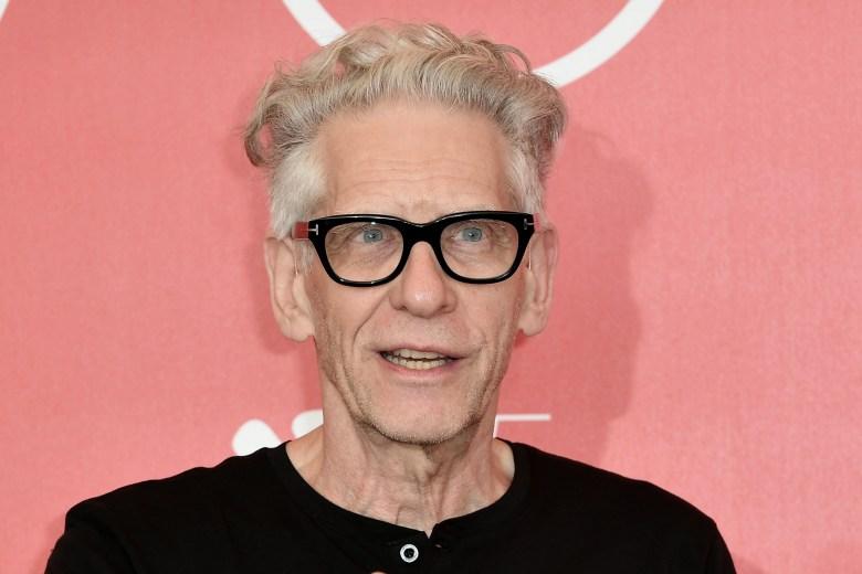 David CronenbergGolden Lion award photocall, 75th Venice International Film Festival, Italy - 05 Sep 2018