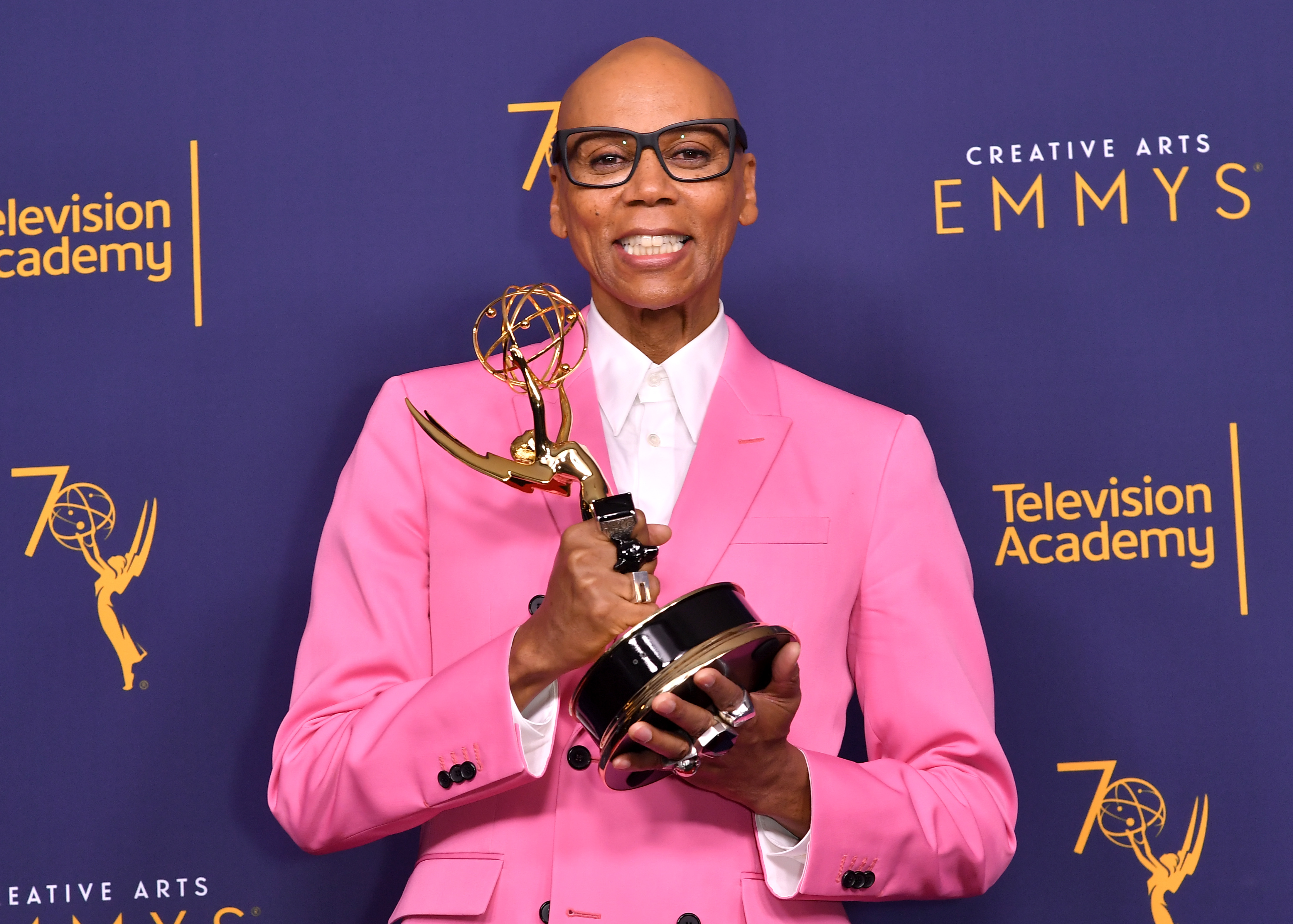 RuPaul Charles - Outstanding Host for a Reality or Reality Competition Program - ÔRuPaulÕs Drag RaceÕCreative Arts Emmys, Press Room, Day 2, Los Angeles, USA - 09 Sep 2018
