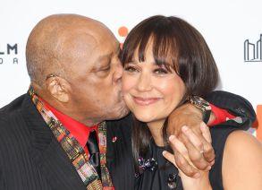 Quincy Jones and Rashida Jones'Quincy' premiere, Arrivals, Toronto International Film Festival, Canada - 09 Sep 2018