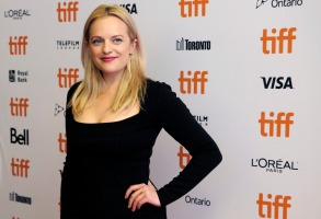 """Elisabeth Moss, a cast member in """"Her Smell,"""" poses at the premiere of the film during the Toronto International Film Festival, in Toronto2018 TIFF - """"Her Smell"""" Premiere, Toronto, Canada - 09 Sep 2018"""
