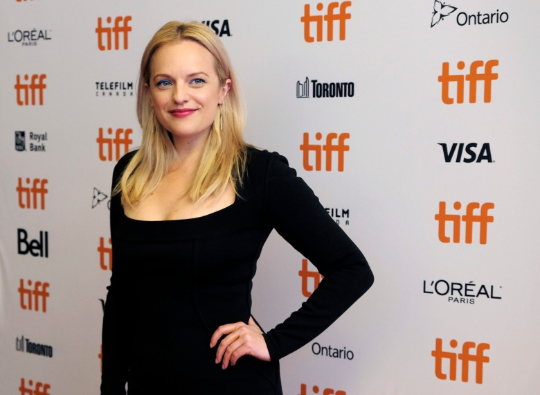 "Elisabeth Moss, a cast member in ""Her Smell,"" poses at the premiere of the film during the Toronto International Film Festival, in Toronto2018 TIFF - ""Her Smell"" Premiere, Toronto, Canada - 09 Sep 2018"