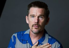 "Ethan Hawke poses for a portrait in New York to promote his film ""BlazeEthan Hawke Portrait Session, New York, USA - 06 Sep 2018"