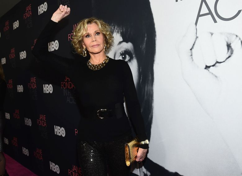 Jane Fonda'Jane Fonda in Five Acts' film premiere, Los Angeles, USA - 13 Sep 2018