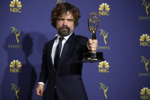 Peter Dinklage - Outstanding Supporting Actor in a Drama Series - 'Game of Thrones'70th Primetime Emmy Awards, Press Room, Los Angeles, USA - 17 Sep 2018