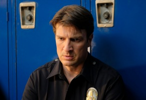 "THE ROOKIE - ""Pilot"" - Starting over isn't easy, especially for small-town guy John Nolan who, after a life-altering incident, is pursuing his dream of being a police officer, on the premiere episode of ""The Rookie,"" airing TUESDAY, OCT. 16 (10:00-11:00 p.m. EDT), on The ABC Television Network. (ABC/Tony Rivetti)NATHAN FILLION"