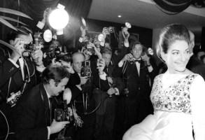 MARIA CALLAS WITH PHOTOGRAPHERSVARIOUS - 1968