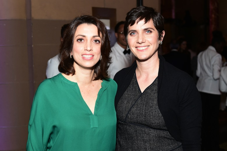 Laura Ricciardi and Moira DemosVariety's Power of Women NY Presented by Lifetime, Inside, Cipriani Midtown, New York, USA - 21 Apr 2017