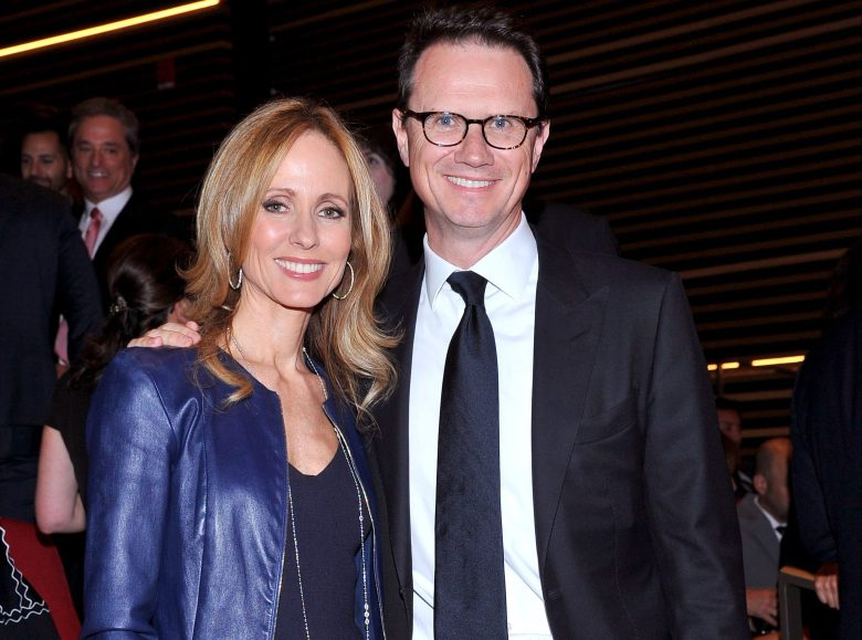 Dana Walden, Fox Co-Chairman and CEO, left, and Peter Rice, Fox Chairman and CEO, at the Television Academy's 70th Anniversary Gala and Opening Celebration for its new Saban Media Center, in the NoHo Arts District in Los AngelesTelevision Academy's 70th Gala and Saban Media Center Opening - Show, North Hollywood, USA