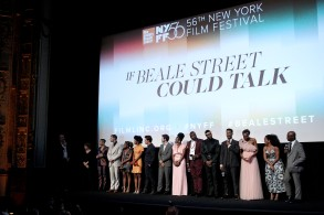 """Cast of If Beale Street Could TalkNYFF 56 U.S. Premiere of """"If Beale Street Could Talk"""", New York, USA - 09 Oct 2018"""