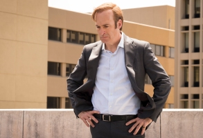 Bob Odenkirk as Jimmy McGill - Better Call Saul _ Season 4, Episode 9 - Photo Credit: Nicole Wilder/AMC/Sony Pictures Television