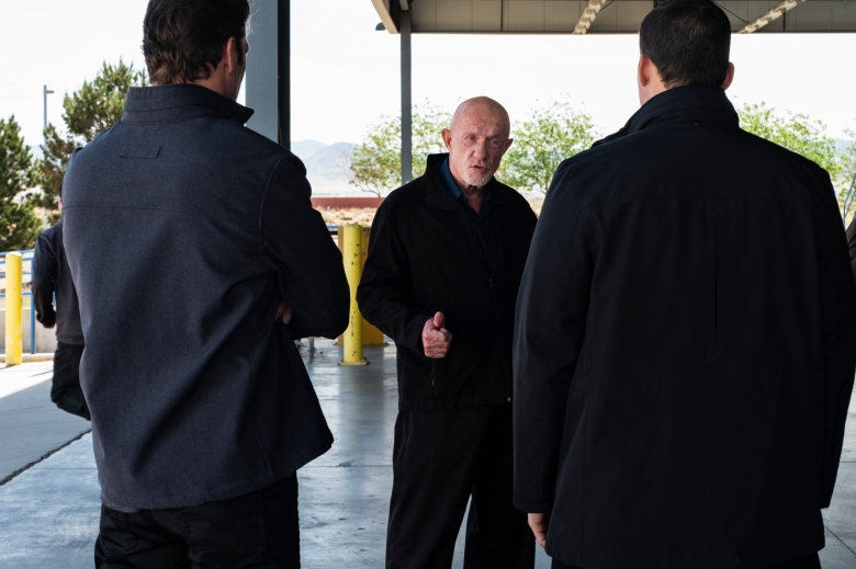 Jonathan Banks as Mike Ehrmantraut - Better Call Saul _ Season 4, Episode 10 - Photo Credit: Nicole Wilder/AMC/Sony Pictures Television