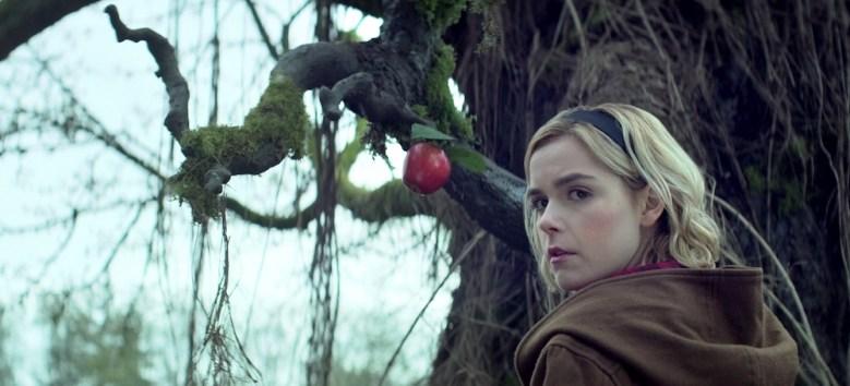 CHILLING ADVENTURES OF SABRINA Kiernan Shipka Netflix Season 1