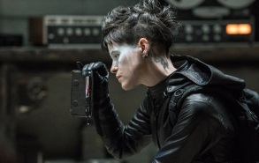 Lisbeth Salander (Claire Foy) in Columbia Pictures' THE GIRL IN THE SPIDER'S WEB.