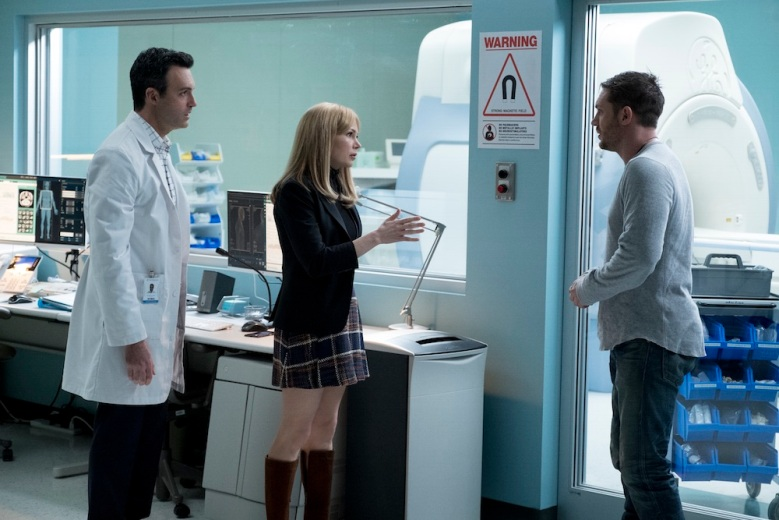 Reid Scott, Michelle Williams and Tom Hardy star in VENOM