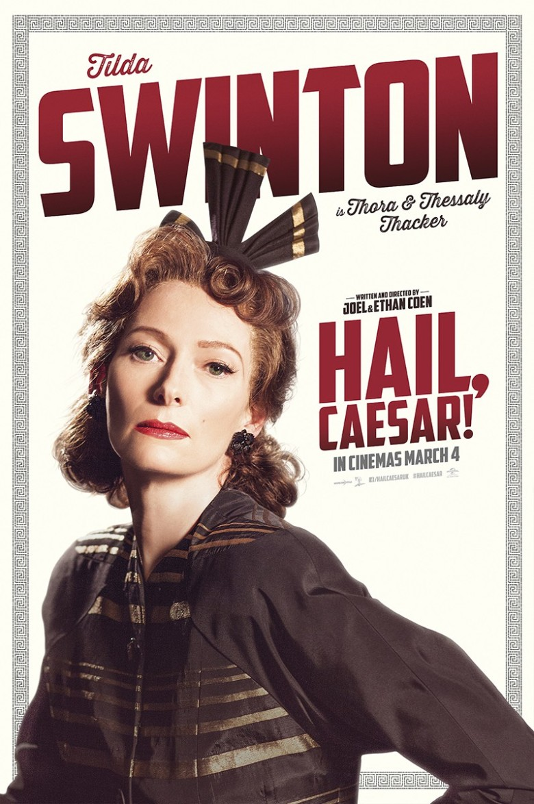 Tilda Swinton's Career in Posters, From