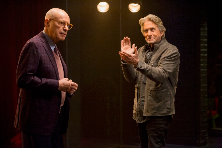 The Kominsky Method Alan Arkin and Michael Douglas Netflix