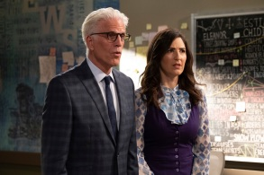 """Ted Danson and D'Arcy Carden, """"The Good Place"""""""