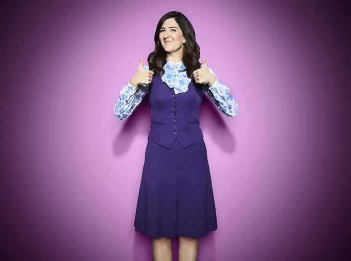 THE GOOD PLACE -- Season: 3 -- Pictured: D'Arcy Carden as Janet -- (Photo by: Andrew Eccles/NBC)
