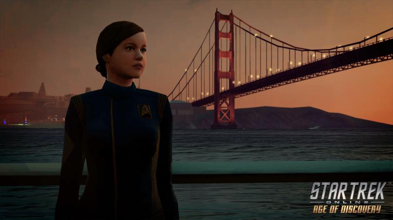 "Ensign Tilly, as rendered in ""Star Trek Online."""