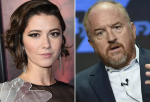 Mary Elizabeth Winstead and Louis C.K.
