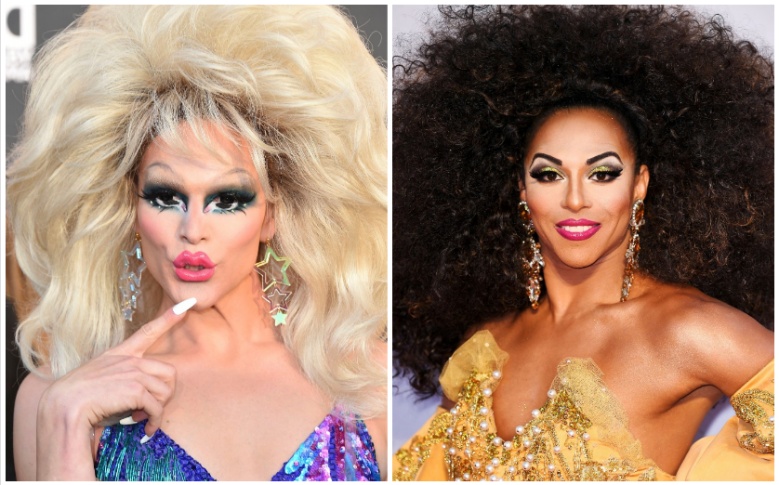 "R: Willam Belli, L: D.J. ""Shangela"" Pierce"