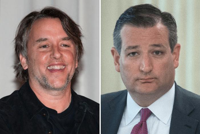Richard Linklater and Ted Cruz