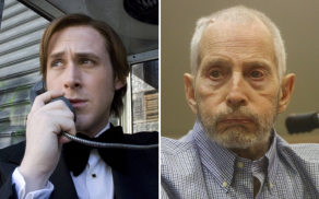 Ryan Gosling and Robert Durst