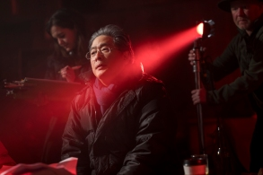 BTS, Director Park Chan-wook - The Little Drumer Girl _ Season 1, Episode 5 - Photo Credit: Jonathan Olley/AMC/Ink Factor