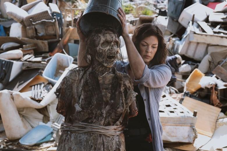 Pollyanna McIntosh as Jadis/Anne- The Walking Dead _ Season 9, Episode 4 - Photo Credit: Gene Page/AMC
