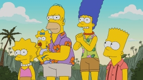 """THE SIMPSONS: Homer wins an oyster-eating contest against the mythical Cthulhu, Springfield is overrun by plant body-snatchers, Lisa finally snaps and Mr. Burns opens a retirement home with some Jurassic upgrades in the all-new Halloween-themed """"Treehouse of Horror XXIX"""" episode of THE SIMPSONS airing Sunday, Oct. 21 (8:00-8:30 PM ET/PT) on FOX.  THE SIMPSONS ™ and © 2018 TCFFC ALL RIGHTS RESERVED."""