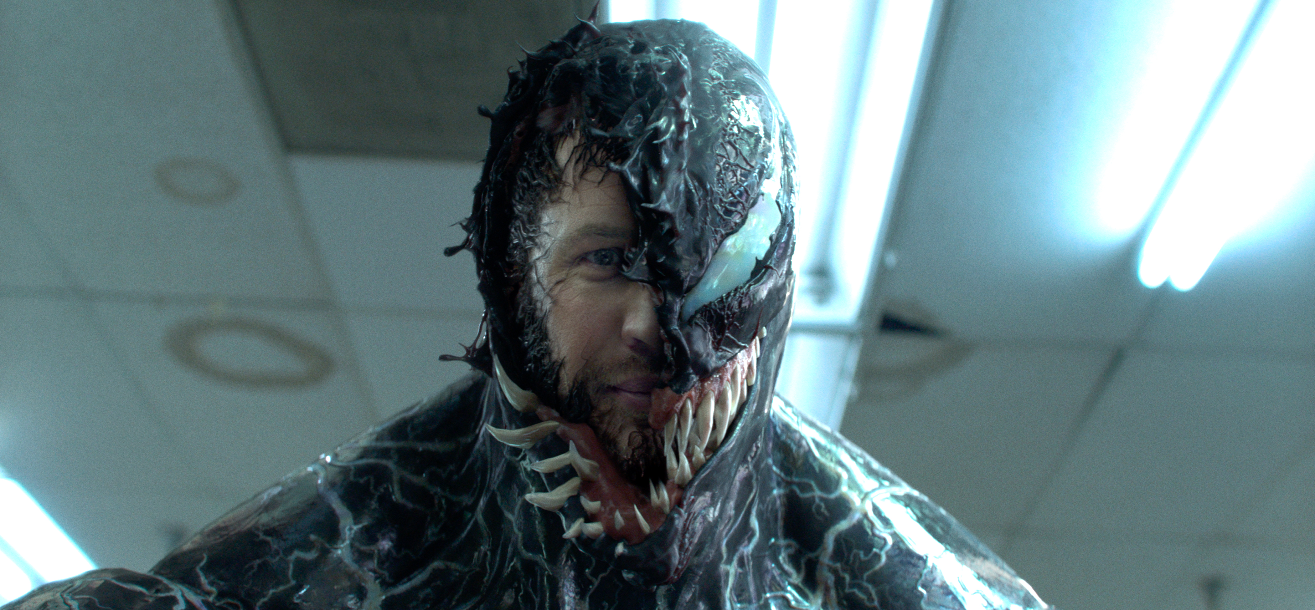 Venom: Going to VFX Extremes to Animate Tom Hardy's