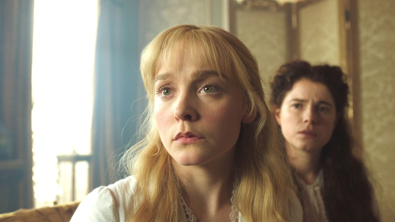 "Olivia Vinall and Jessie Buckley, ""The Woman in White"""