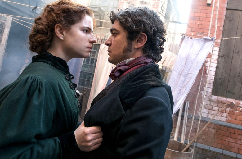 "Jessie Buckley and Riccardo Scamarcio, ""The Woman in White"""