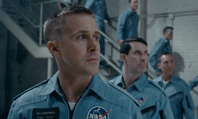 "On the heels of their six-time Academy Award®-winning smash, ""La La Land,"" Oscar®-winning director Damien Chazelle and star RYAN GOSLING reteam for Universal Pictures' ""First Man,"" the riveting story of NASA's mission to land a man on the moon, focusing on Neil Armstrong and the years 1961-1969."