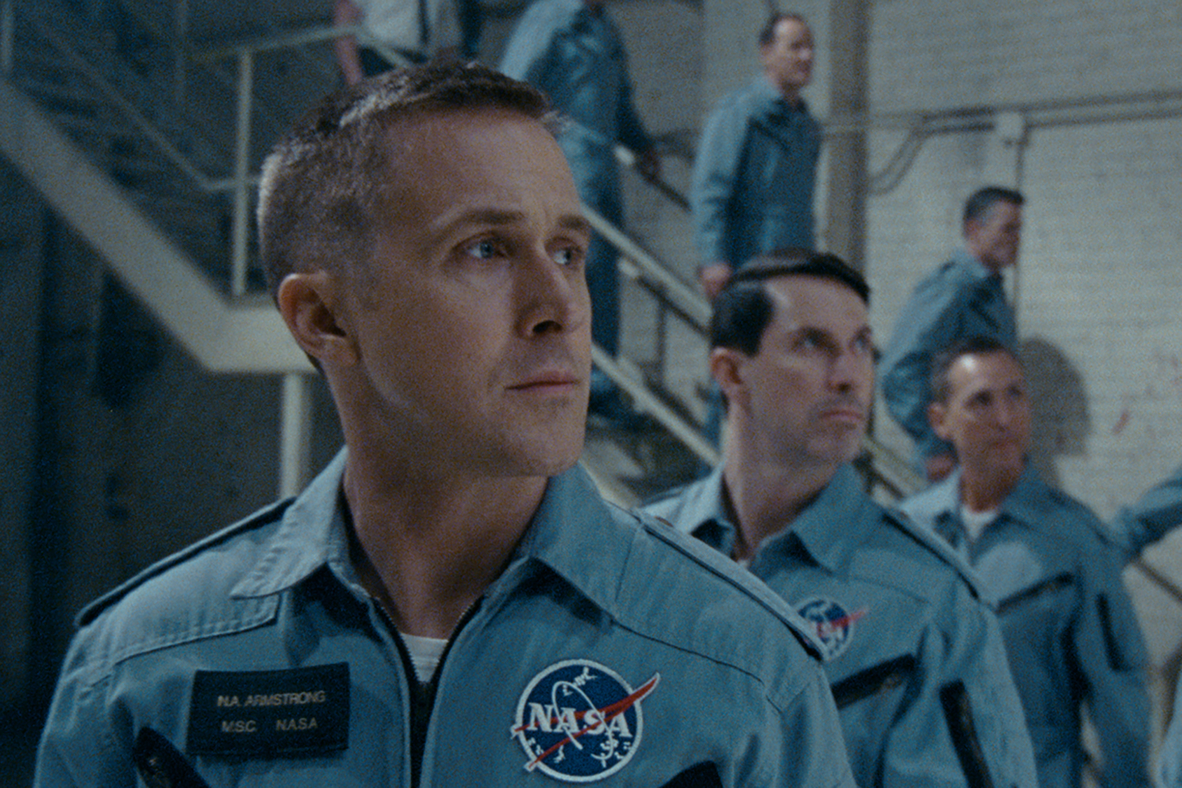 """On the heels of their six-time Academy Award®-winning smash, """"La La Land,"""" Oscar®-winning director Damien Chazelle and star RYAN GOSLING reteam for Universal Pictures' """"First Man,"""" the riveting story of NASA's mission to land a man on the moon, focusing on Neil Armstrong and the years 1961-1969."""