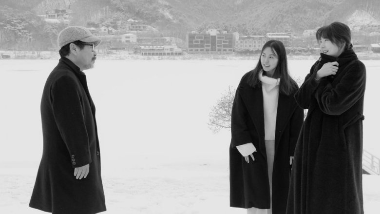 hotel by the river review hong sang soo almost makes a rom com