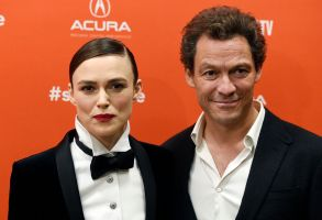 "Keira Knightley, Dominic West. Keira Knightley, left, and Dominic West, cast members in ""Colette,"" pose together at the premiere of the film at the 2018 Sundance Film Festival, in Park City, Utah2018 Sundance Film Festival - ""Colette"" Premiere, Park City, USA - 20 Jan 2018"