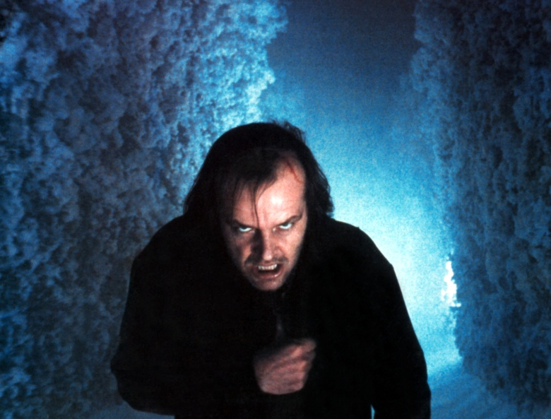 Editorial use only. No book cover usage.Mandatory Credit: Photo by Moviestore/REX/Shutterstock (1635823a)The Shining, Jack NicholsonFilm and Television