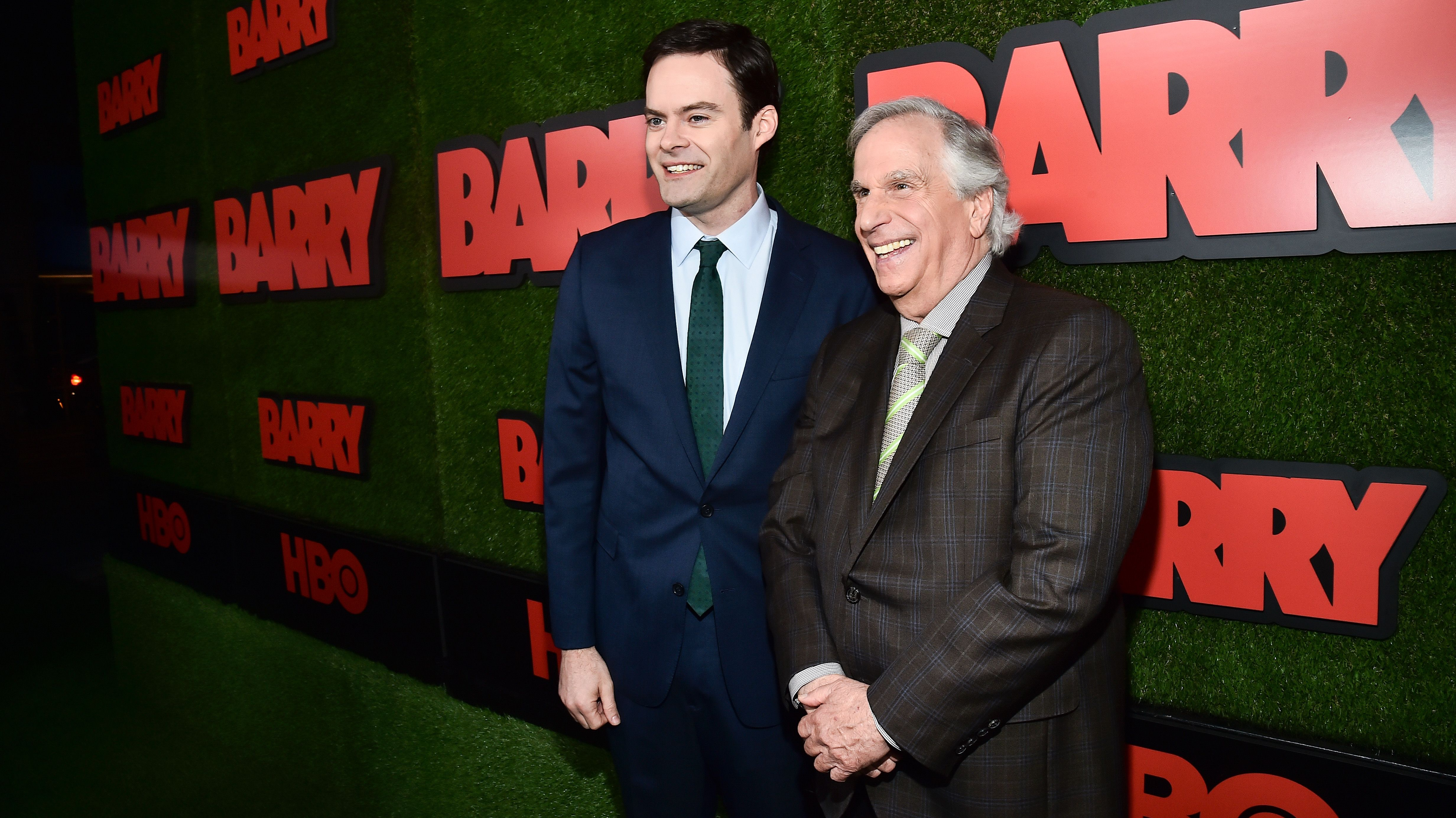 Henry Winkler on Bill Hader: The 'Barry' Star Is 'Wound Tight, Completely Open' and 'Instantly Funny'