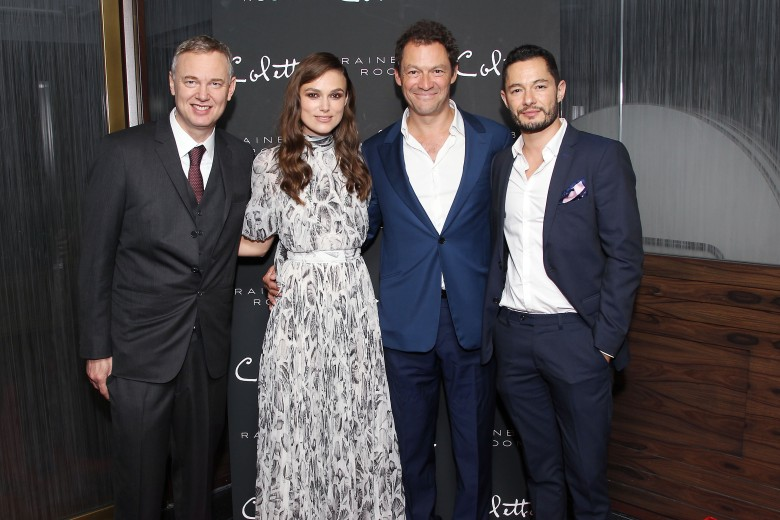Wash Westmoreland (Director), Keira Knightley, Dominic West, Jake GrafNew York Special Screening of COLETTE - After Party, USA - 13 Sep 2018