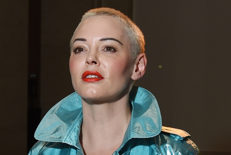 US actress Rose McGowan attends the Pam Hogg show during the London Fashion Week in London, Britain, 14 September 2018. The London Fashion week runs from 14 to 18 September 2018.Pam Hogg - Guests - London Fashion Week September 2018, United Kingdom - 14 Sep 2018