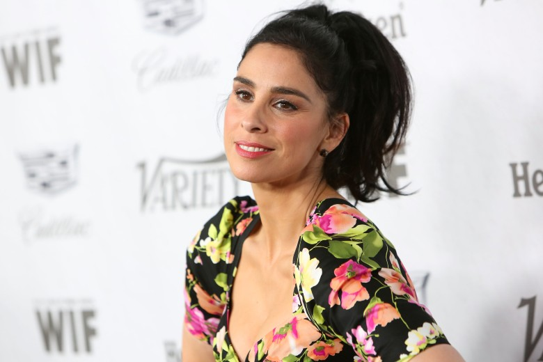 Sarah SilvermanVariety and Women in Film Pre-Emmy Party, Arrivals, Los Angeles, USA - 15 Sep 2018Variety and Women in Film 2018 Television Nominees Celebration at Cecconi's