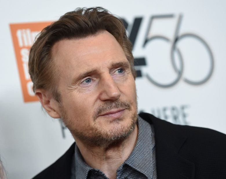 "Liam Neeson attends the premiere for ""The Ballad of Buster Scruggs"" at Alice Tully Hall during the 56th New York Film Festival, in New York2018 NYFF - ""The Ballad of Buster Scruggs"" Premiere, New York, USA - 04 Oct 2018"