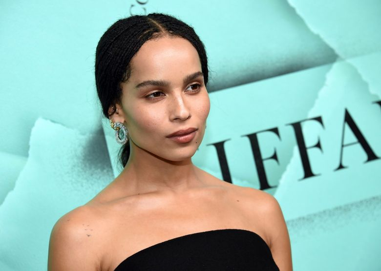 Zoe Kravitz attends the Tiffany & Co. 2018 Blue Book Collection: The Four Seasons of Tiffany celebration at Studio 525, in New YorkTiffany and Co. 2018 Blue Book Collection Celebration, New York, USA - 09 Oct 2018