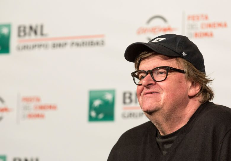 Michael Moore'Fahrenheit 11/9' photocall, Rome Film Festival, Italy - 20 Oct 2018