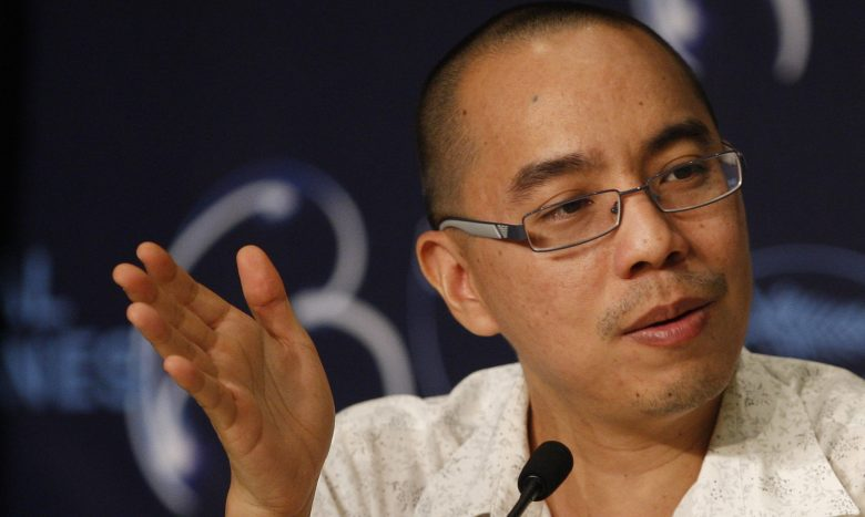 Thai Director Apichatpong Weerasethakul Attends the Press Conference of the Movie 'Lung Boonmee Raluek Chat' (uncle Boonmee who Can Recall His Past Lives) During the 63rd Cannes Film Festival in Cannes France 21 May 2010 the Movie is Presented in Competition at the Cannes Film Festival 2010 Running From 12 to 23 May France CannesFrance Cannes Film Festival 2010 - May 2010
