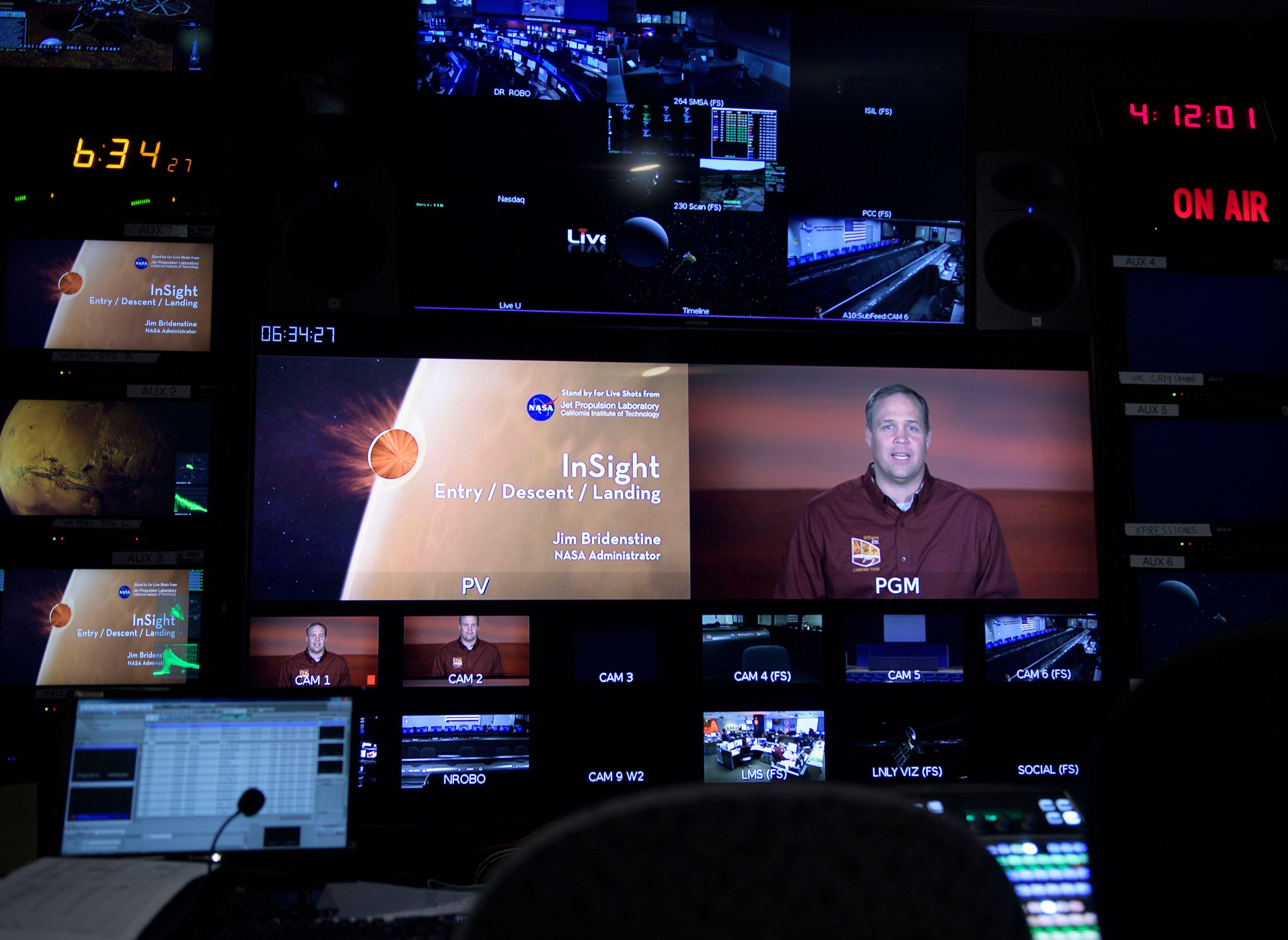 mars landing mission control live - photo #4