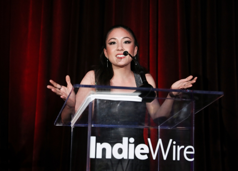 Constance Wu at the IndieWire Honors 2018 at No Name on November 1, 2018 in Los Angeles.