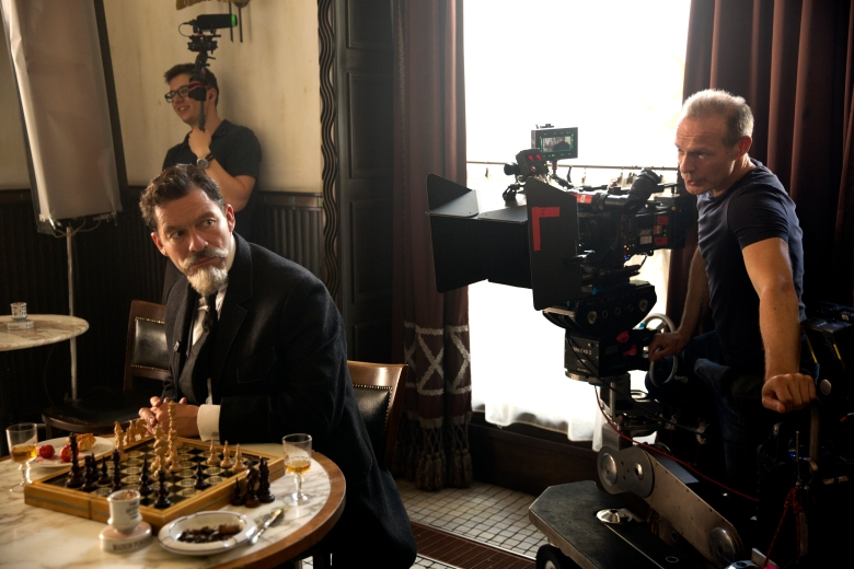"""Colette"" Actor Dominic West and cinematographer Giles Nuttgens"